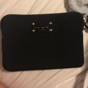 Kate Spade ♠️ New York black iPad mini sleeve case